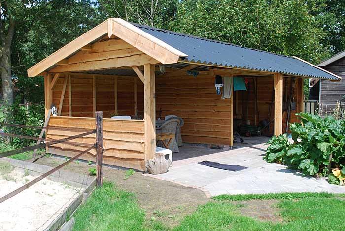 Annou0026#39;s Houtbouw Assen : Bouwt houten schuren en garages in Groningen ...